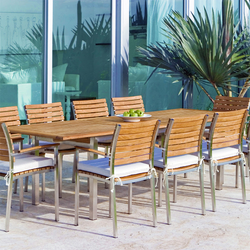 Teak Patio Furniture Set - Westminster Teak Outdoor Furniture
