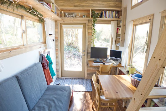 Peek Inside This 240 sq.ft Tiny Project Houses - Small House Decor