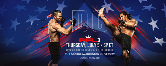 PFL 3 Results - Jake Shields vs Ray Cooper from Washington D.C.