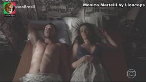 Monica Martelli sensual no filme Os homens são de Marte