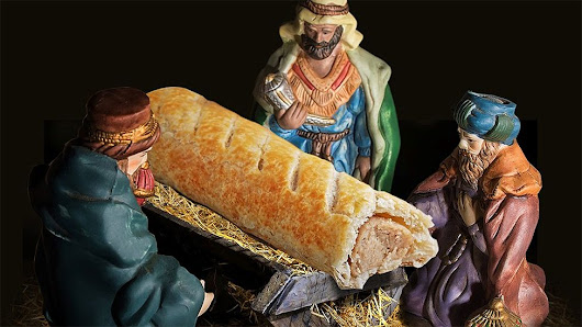 Greggs sorry for swapping Jesus for sausage roll in nativity scene