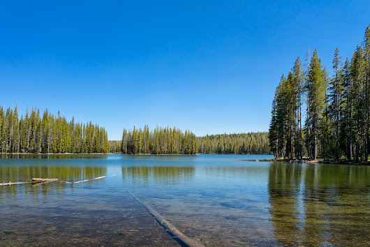 Lassen Area Hiking Trails: Hay Meadow Lakes Loop