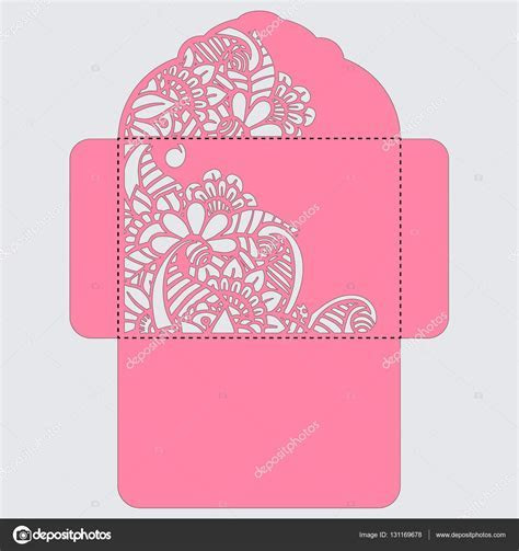 Designs : Wedding Envelope Design Vector Together With