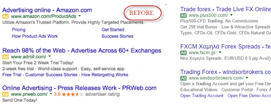 New Look for Google PPC Search Results Ads Arrived in Cyprus - PPC Success Center