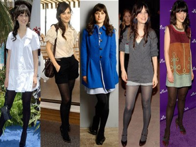 zooey deschanel fashion style