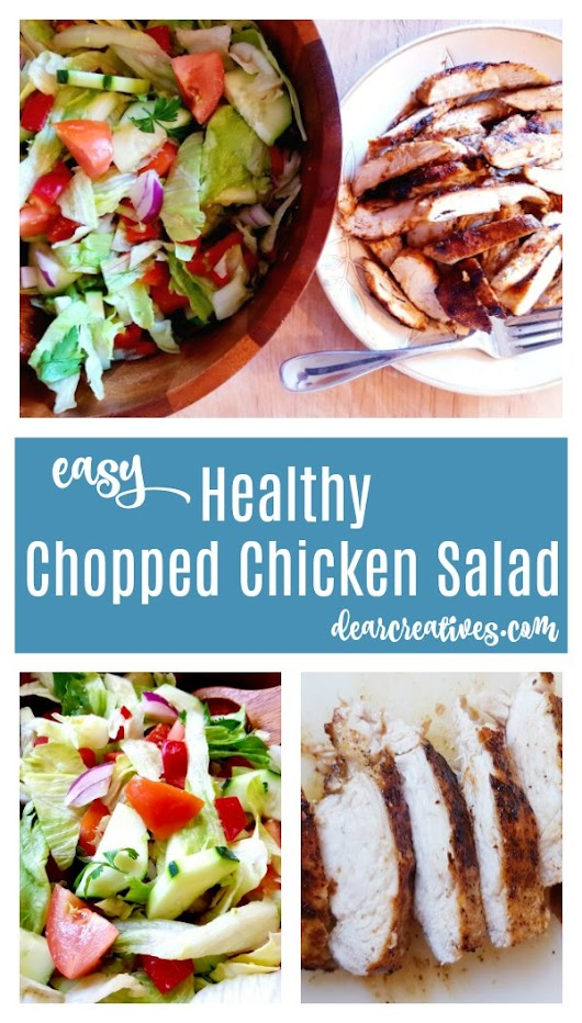 Easy Chicken Salad Recipe for a Healthy, Light Dinner Under 30 Minutes