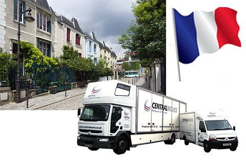 Removals to France | Moving to France | Removals London to France | Central Moves
