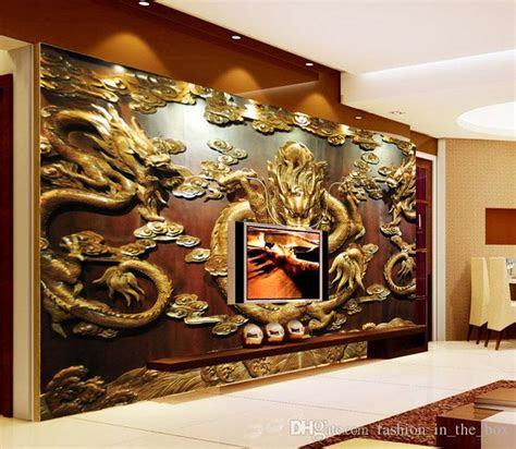 grosshandel benutzerdefinierte  wallpaper holzschnitzerei
