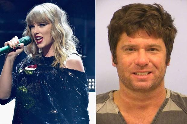 Taylor Swift e Frank Andrew Hoover (Foto: Getty Images/Reprodução)