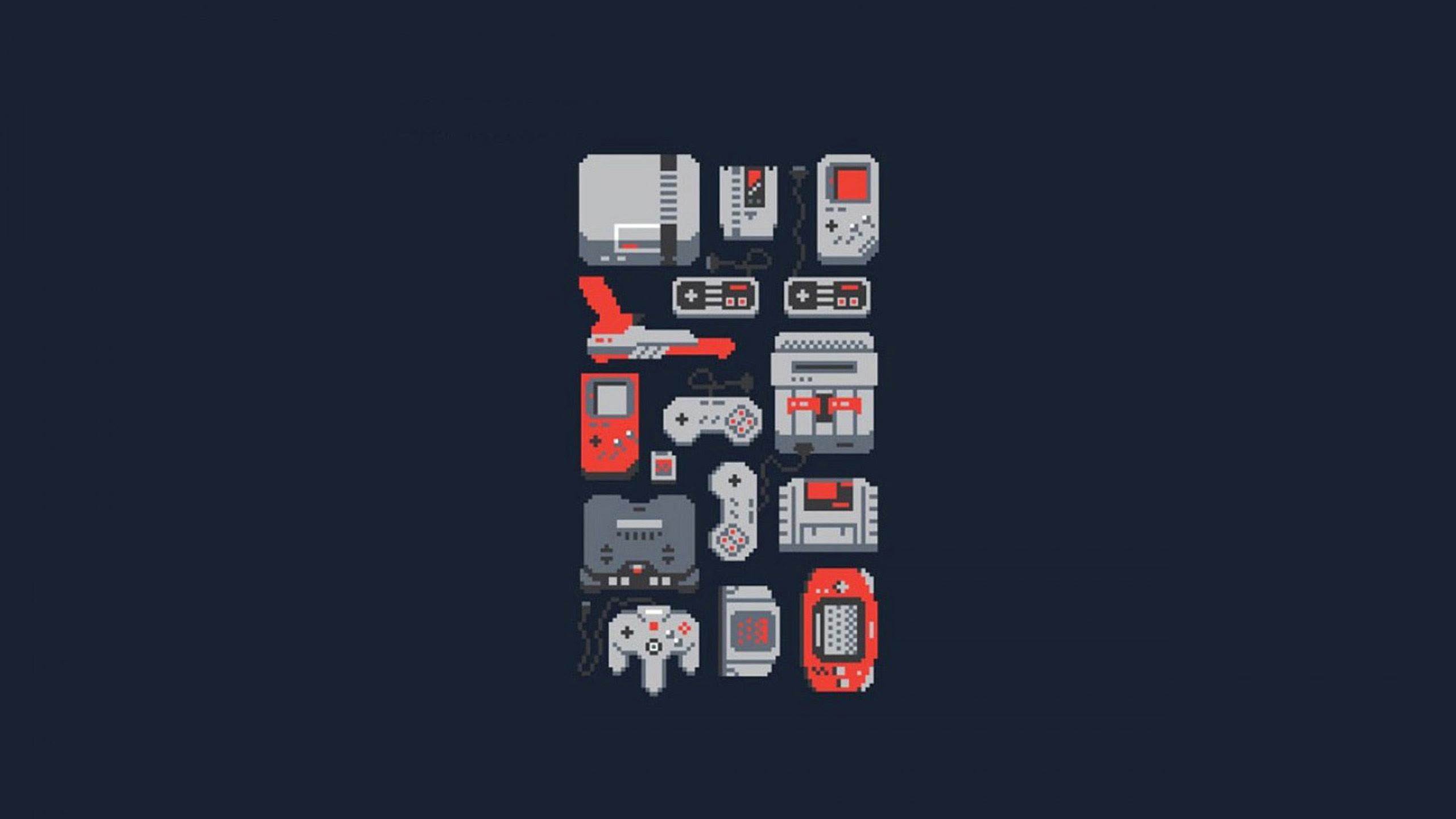 Retro Video Game Wallpapers  WallpaperSafari