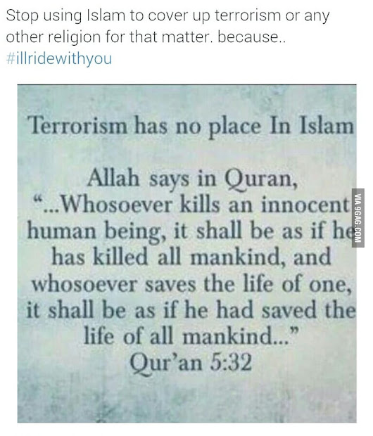 Terrorism has no religion.
