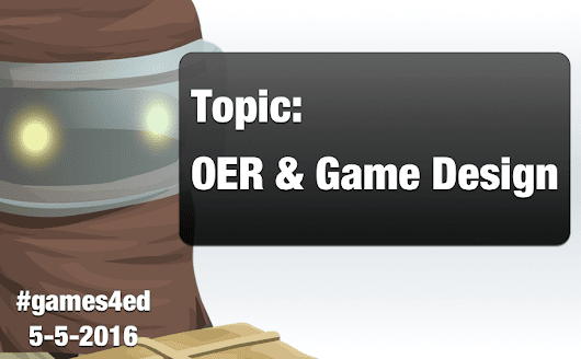 #games4ed – Leading My First Twitter Chat
