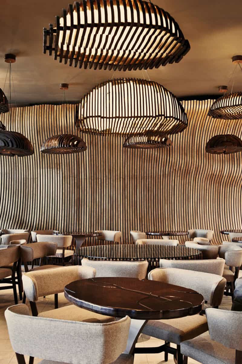Top 5 - Restaurant Interior Designs with Wooden Walls ...