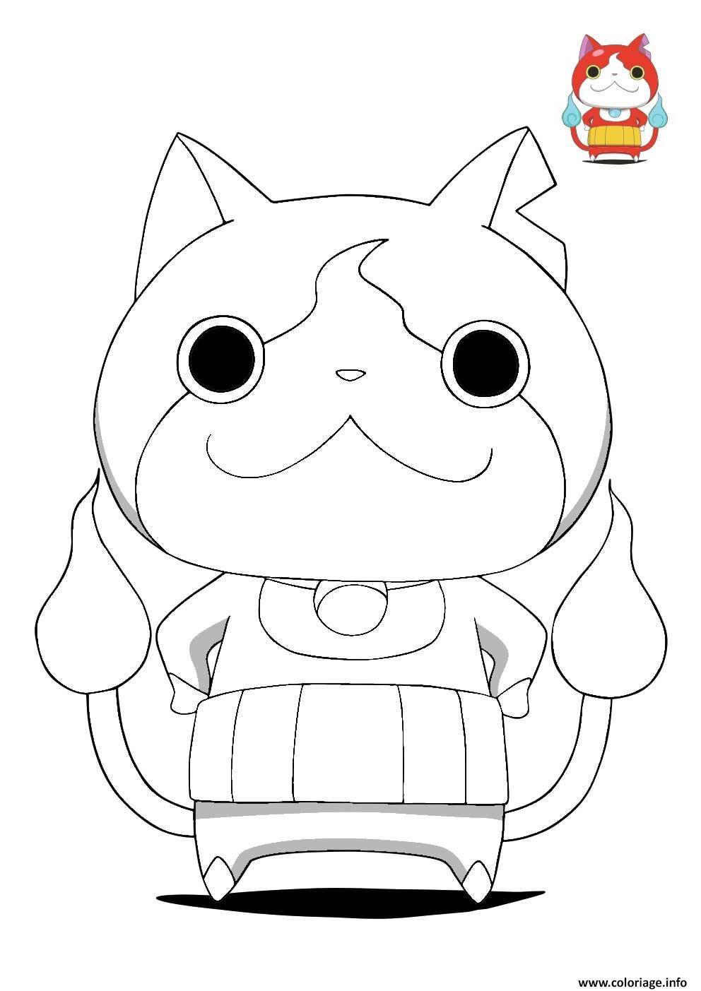 10 Free Download Coloriage Yo Kai Worksheets For Children Pdf Doc