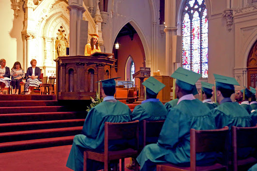 Cathedral Seniors Celebrate Extraordinary Success - Cathedral 7-12 High School Boston