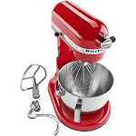 KitchenAid Professional HD Series 5 Quart Bowl-Lift Stand Mixer Stand Mixer in Empire Red 492500