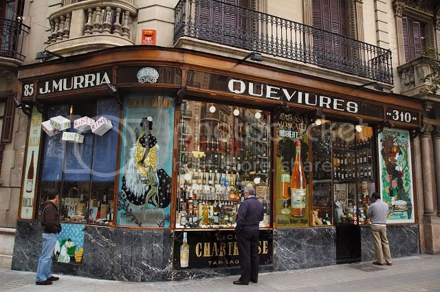 Catalan Modernisme: Múrria Grocer's Shop in Barcelona