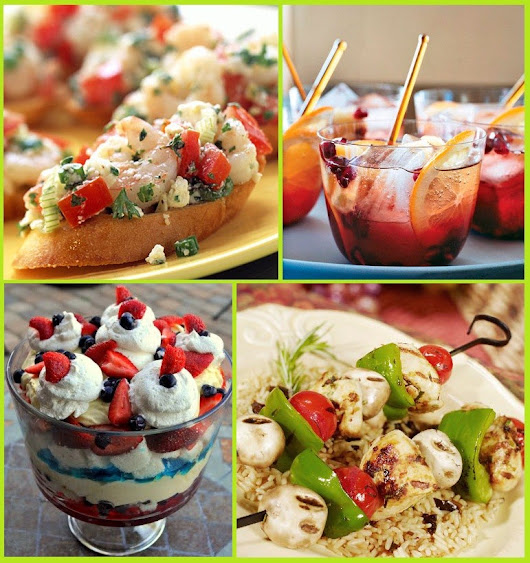 24 Summer Party Food Ideas: Memorial Day, 4th of July, Labor Day + More