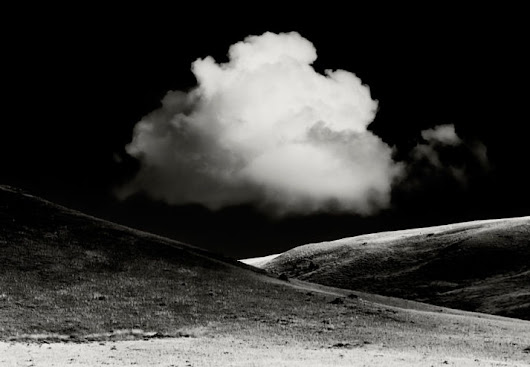 Chasing Clouds - Black and White Landscape Photography by Jay Wesler
