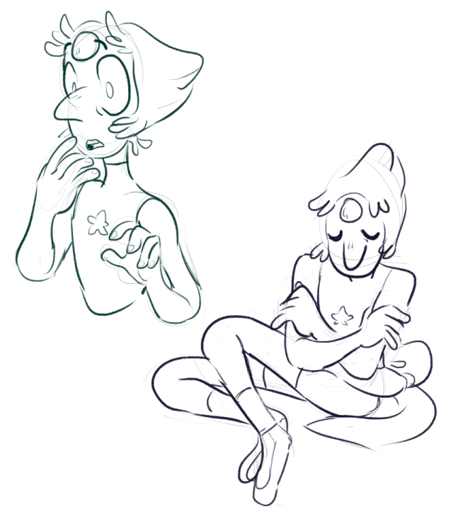 i can always just default to drawing pearl comms | patreon