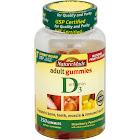 Nature Made Vitamin D Adult Gummies, Strawberry/Peach/Mango - 150 count