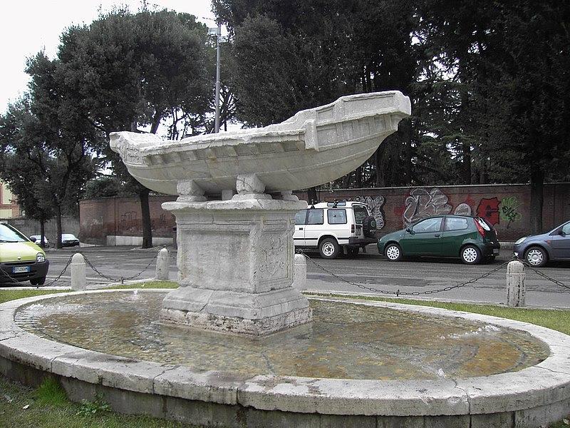 File:Celio - fontana della Navicella 1827.JPG