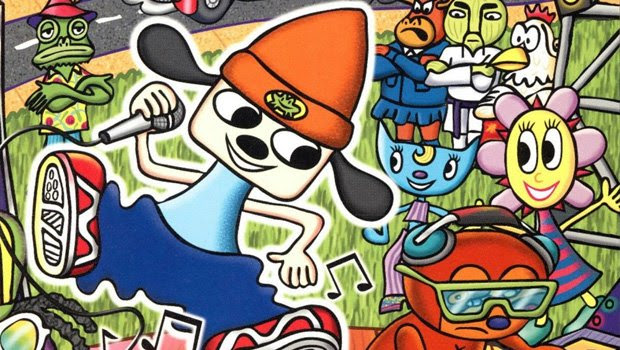 Voice of PaRappa the Rapper petitions for a sequel screenshot