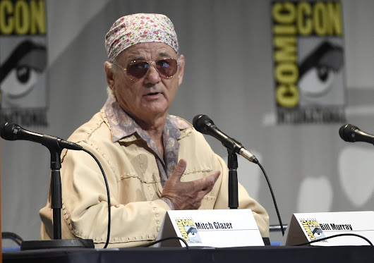 Bill Murray, after bagels and tequila, defends Miley Cyrus, in first-ever Comic-Con appearance