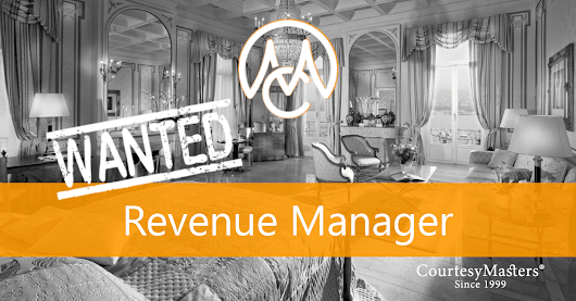 Job Revenue Manager (hotel opening) • CourtesyMasters