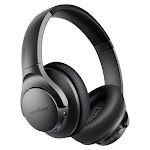 Anker Soundcore Life Q20 Hybrid Active Noise Cancelling Headphones, Wireless Over Ear Bluetooth Headphones with 40H Playtime, Hi-Res Audio, Deep Bass