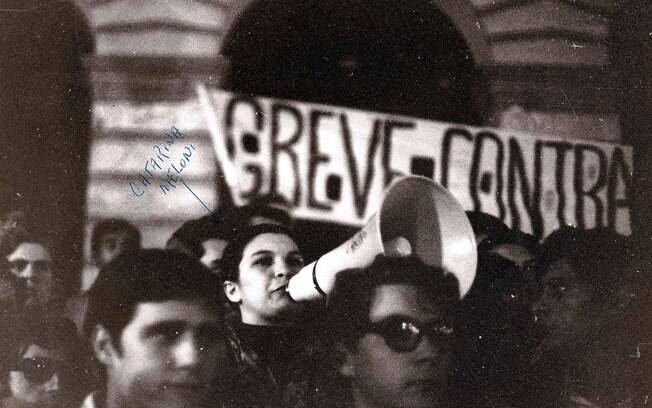 Os estudantes também tiveram apoio de alguns partidos e organizações políticas. Foto: Arquivo Brasil Nunca Mais