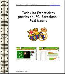 Descargarte el Estudio Estadistico Barça-Madrid