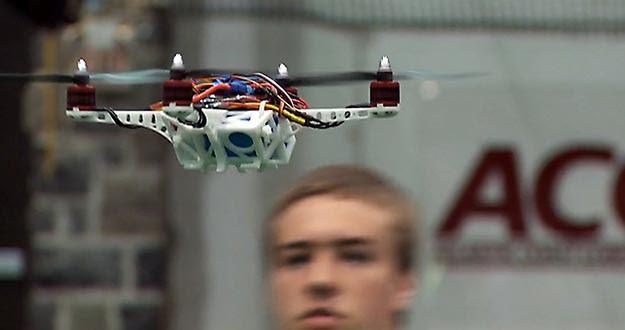 Dron fabricado en el concurso VT-ARC.