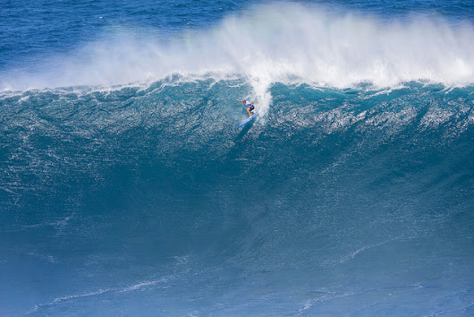 Maui's Alms wins as women take on Jaws big-wave surf contest for first time