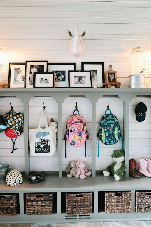 4 Super-Motivating Mudroom Makeovers for Fall