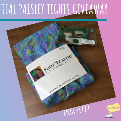 BLOGWORDS – Thursday 15 November 2018 – WREADING WEDNESDAY-on-THURSDAY – FEATURED BOOK– TEAL PAISLEY TIGHTS by BARBARA BRUTT