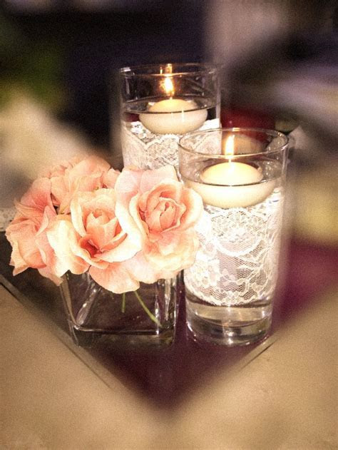 25  best ideas about Lace Wedding Decorations on Pinterest
