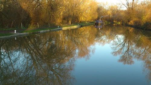From Roydon Lock
