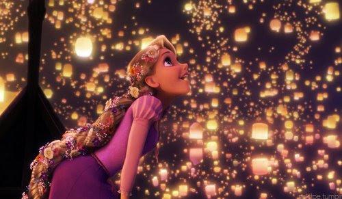 dream, lights, rapunzel, tangled