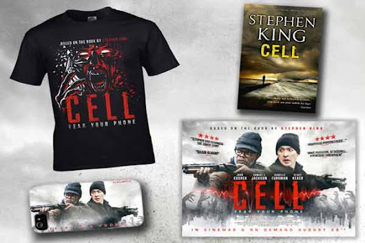 Stephen King's Cell Exclusive Merchandise Competition - Love Horror film reviews and news