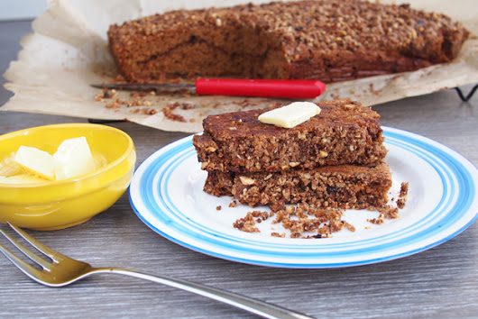 Sprouted Whole Wheat Coffee Cake