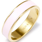 Stackable Rings - Gold Enamel Ring - Gifts for Mom - Anniversary Gift for Her - Graduation Gifts for Her
