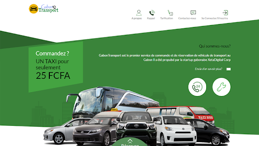 Transport: une jeune start-up lance une application mobile au Gabon