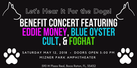 Benefit Concert Featuring Eddie Money, Blue Oyster Cult, & Foghat | May 12, 2018