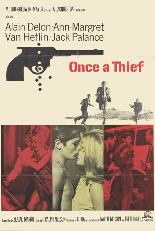 Once a Thief (1965) - She Blogged By Night