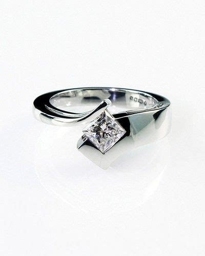 25  best ideas about Modern Wedding Rings on Pinterest