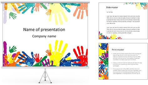 Yeh chris google colorful childs palms powerpoint template toneelgroepblik Gallery