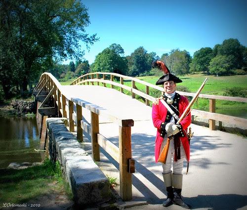 Guarding the Old North Bridge