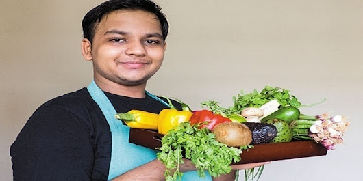 CookingShooking Yaman Agarwal -16 Yrs Shares Delicious Recipe | AllStory.org - Media, News & Publication