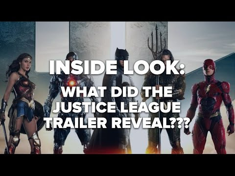 DC Movie News: What the Justice League trailer reveals